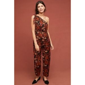 Anthropologie Maeve Kyoto Floral Jumpsuit NEW 2